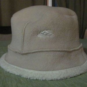 Roots Hat Beige and Cream
